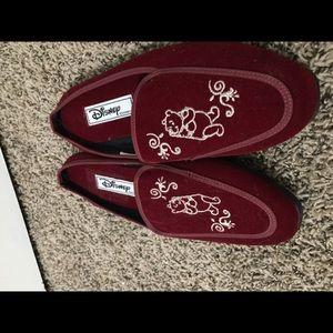 Disney Suede Shoes Winnie Pooh Size 8W